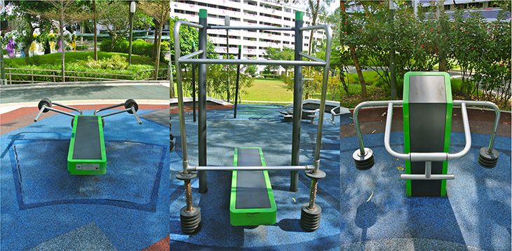 Singapore fitness zones « sportify cities