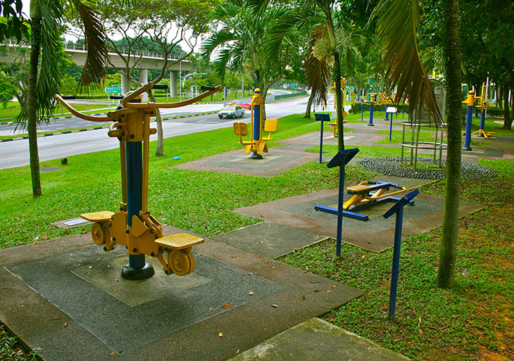 Singapore Fitness Zones 171 Sportify Cities